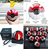 Pokeball de 10000mAh Banco de la energía cargador portátil para móviles batería externa PowerBank Juego Pokemons plustoy pover banco para iphone