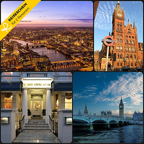 Viaje faros–3días en Londres Lodge–Hotel En el Centro de Londres Erleben–cupones kurzreise Viajes viaje regalo