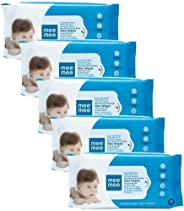 Mee Mee Caring Baby Wet Wipes, Aloe Vera, 72 Pieces (Pack of 5)