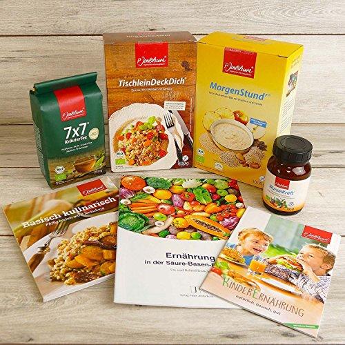 Genießer-Set Basische Ernährung von Jentschura – mit Rezeptbuch und Infos