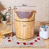 XWQ Fuß Barrel / Gesundheit Bad / Fuß Wanne / Zeder Holz Fumigation Barrel / Dampfbad Fuß Fuß / Dampf Fuß Fass