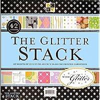 Cartoncini Tutte le occasione Glitter Stack 12