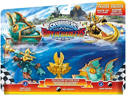 Skylanders SuperChargers: Racing Sea Pack - Racing Ps3 Spiele