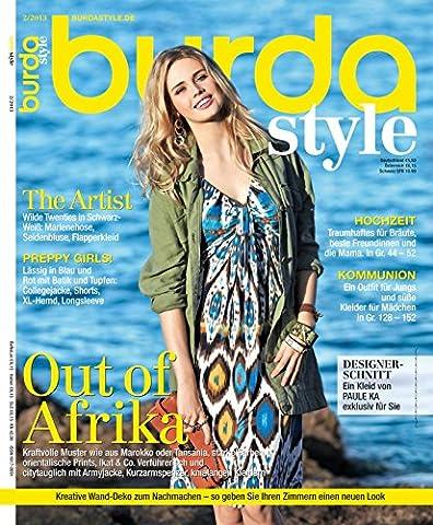 Burda style 2013 #02 Februar-Ausgabe