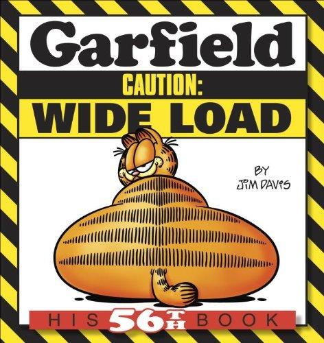 Garfield Caution: Wide Load: His 56th Book by Jim Davis (2013-09-10) par Jim Davis