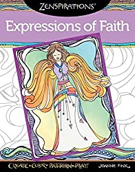 Zenspirations Coloring Book Expressions of Faith: Create, Color, Pattern, Play! by Joanne Fink (2015-10-01)