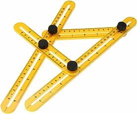 Lagfly Angleizer Template Tool Multi Angle Measure Tool - Measuring Ruler -Angle Ruler for Carpenter Builder Craftsmen Engineer and DIY Hobbyist (1)