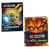 LEGO® Nexo Knights™ Mit Nexo Kraft siegen + LEGO® Nexo Knights™ Das Buch der Monster