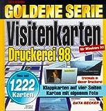 Goldene Serie. Visitenkarten- Druckerei. CD- ROM für Windows 95 -