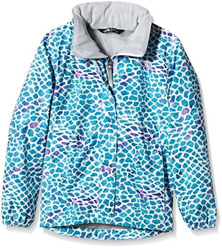 The North Face Mädchen Jacke G Novelty Resolve Jacket, Bluebird Pebble Print, L, 0732075050009 (Face Mädchen Jacken North Für)