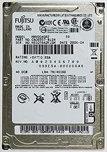Fujitsu Limited MHV2040AT Disque dur IDE pour ordinateur portable Fujitsu 40 Go