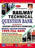 Kiran's railway technical question bank (1999- till date) – English for the posts of, assistant loco pilot and technicians model solved papers 1999-till date content show to prepare for railway exams. Railway, at a glance brief guidelines for appeari...