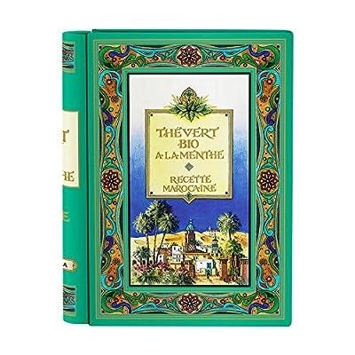 Coffret thé vert biologique à la menthe Recette Marocaine - 24 sachets