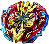 #3: MTT Solution Gyro Battling Top Beyblade Burst Starter B-48 Xeno Xcalibur M.I Beyblades with Launcher Stater Set High Performance Battling Top Launcher+Grip ( with B-40 Launcher Grip Black )