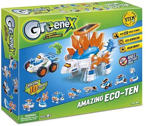 Amazing Toys 09011Greenex Amazing eco-Ten Kit Electronic Lab-kit