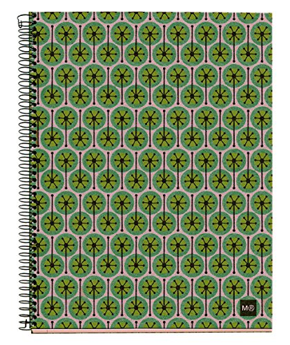 basicos-mr-2945-notizbuch-4farben-a5-120blatt-horizontal-ecopistils-recycling