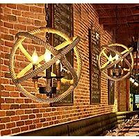 SJUN—American Vintage Lampadario Corda Ristorante Caffetteria Industriale