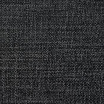 Charcoal Grey Soft Plain Linen Look Home Essential