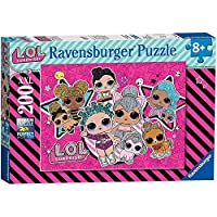 Ravensburger UK 12884 Ravensburger LOL Surprise Girl Power XXL 200pc Jigsaw Puzzle,