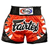 Fairtex Yodsanklai mordedura Muay Thai Shorts - rojo Medium