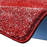 casa pura Shaggy Teppich Bali   Weicher Hochflor Teppich für Wohnzimmer, Schlafzimmer und Kinderzimmer   mit GUT-Siegel   Verschiedene Größen   viele Moderne Farben (200 x 300 cm, rot)
