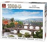 King City Collection Moldau Prague 1000 pcs Puzzle - Rompecabezas (Puzzle Rompecabezas, Ciudad, Adultos, Fotoshot, Hombre/Mujer, 8 año(s))