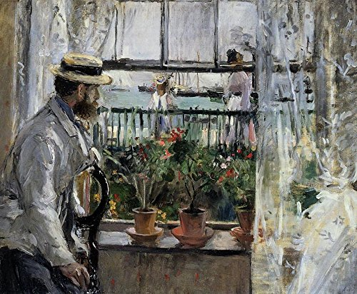 Das Museum Outlet-Eugene Manet auf der Isle of Wight-1875-A3Poster