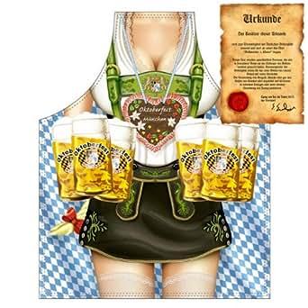 grillsch rze mit urkunde bayerische bedienung oktoberfest lustige motiv sch rze als geschenk. Black Bedroom Furniture Sets. Home Design Ideas