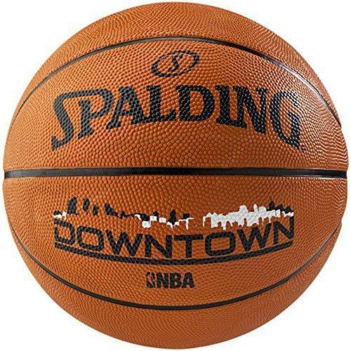 Spalding NBA Street Outdoor Play Formazione e pratica Downtown Pallacanestro, misura 7, Marrone chiaro