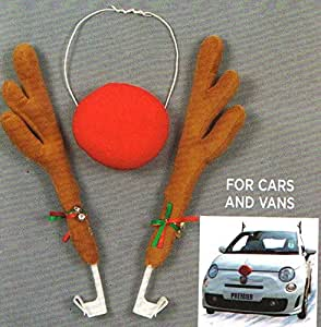 Car Reindeer Antlers And Nose Uk