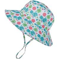 Ugitopi Cappello da Sole per Bambino UPF 50+ Regolabile a Tesa Larga
