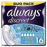 Always Discreet - Assorbenti lunghi plus, per perdite urinarie e incontinenza
