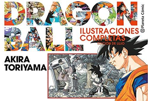 Portada del libro Dragon Ball Ilustraciones de lujo (nueva edición): Edición de lujo (Manga Artbooks)