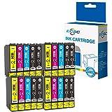 ECSC Compatibile inchiostro Cartuccia Sostituzione per Epson WF-2010W WF-2510WF WF-2520NF WF-2530WF WF-2540WF WF-2630WF WF-26
