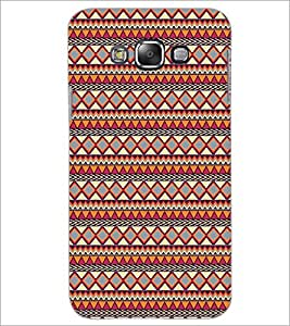 PrintDhaba Tribal Pattern D-5423 Back Case Cover for SAMSUNG GALAXY GRAND 3 (Multi-Coloured)