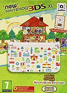 New Nintendo 3DS - Consola XL + Animal Crossing Happy Home Designer (preinstalado) (B012TM20UO) | Amazon price tracker / tracking, Amazon price history charts, Amazon price watches, Amazon price drop alerts