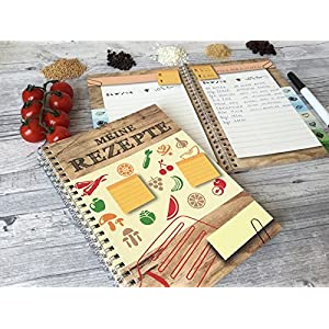 Rezeptbuch, Kochbuch - Meine Rezepte