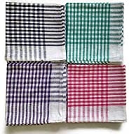 Ashley Kitchen Napkin/Cleaning Cloth/Table Wipe Pack of 12 with (Multicolour, Standard Size) 16 * 16inch(Mediu