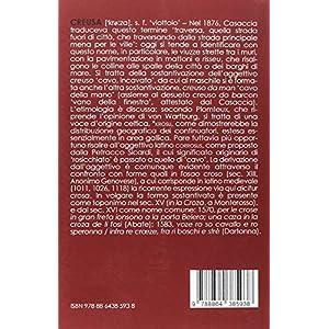 Piccolo dizionario etimologico ligure. L'origine,
