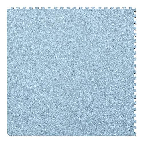 JIAJUAN-Puzzlematte Baby Ineinandergreifend Schaumstoffmatten Kinder Quadrat Puzzle Fliesen Mehrzweck Wohnzimmer Bereich Teppich Fußboden Spielmatte, 7 Farben (Color : E, Size : 30x30x1cm-9 Piece) -