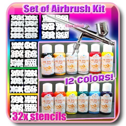Set airbrush Kit CODE: # 235