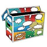 BCW (1) Art POW! Short Comic Storage Box - Holds 150-175 Comics BX-Short-Art-POW by