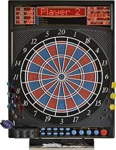 Elektronische Dartscheibe Dartona JX2000 Turnier Pro – Turnierscheibe mit 41 Spielen und über 200 Varianten