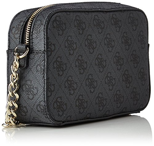 Guess Christy Mini Sac bandoulière 20 cm Multicolore (Coal)