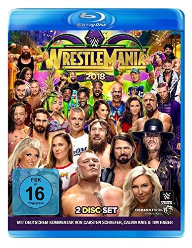 Wrestlemania 34 [Blu-ray]
