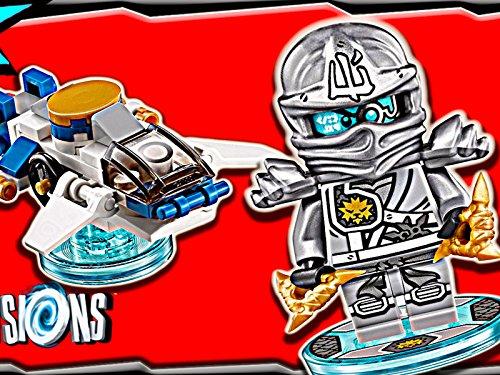 Clip: Zane Ninjago Fun Pack - Dimensions Zane Lego