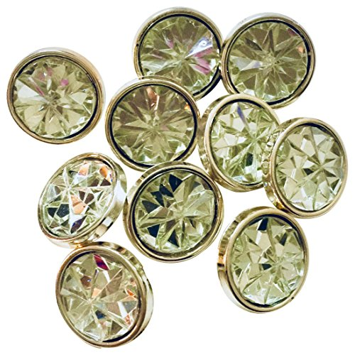 Eerafashionicing Round Crystal Buttons for Women's Kurtis