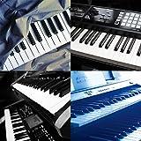Electronic Piano Staub Cover schützende für Tastatur Dimension Schlüssel Composite Reinigungstuch Universal Digital elektrische Schützen