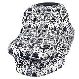 VIVOTE Copertura infermieristica per l'allattamento al seno Carseat Baldacchino Infantile Car Seat Cover Nursing Scarf