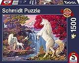 Schmidt Spiele Puzzle 58312 Triumph der Einhörner, 1500 Teile